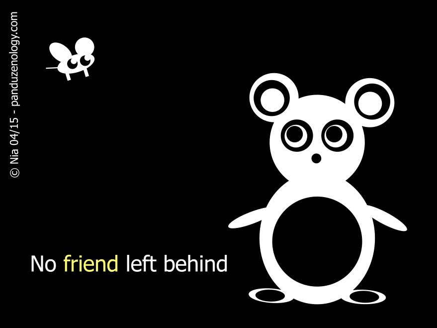 pandu 4 No friend left behind
